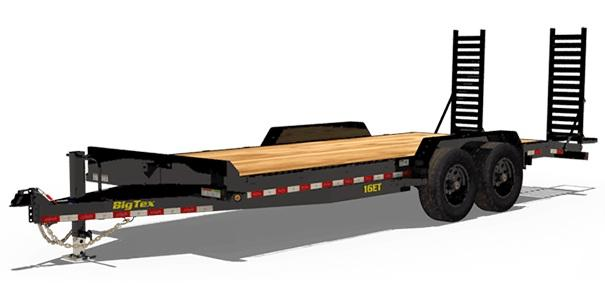 2020 Big Tex Trailers 16ET 83 X 22 Equipment Trailer