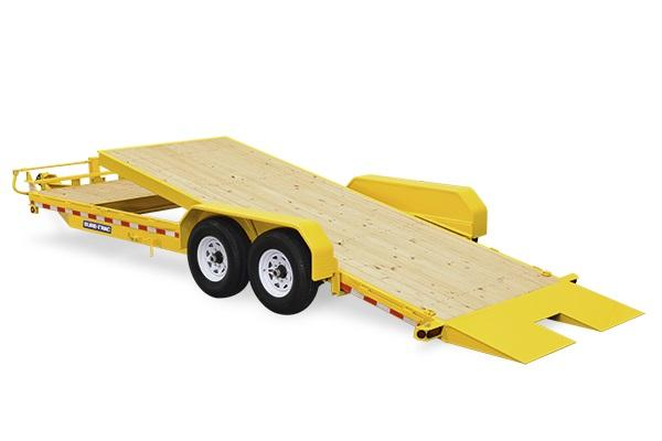 2019 Sure-Trac 7 X 16 14K Tilt Bed Equipment Equipment Trailer