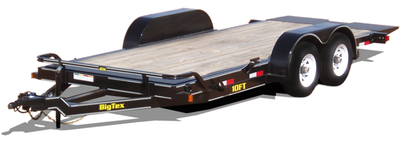 2017 Big Tex Trailers 16 FLATBED Dump Trailer
