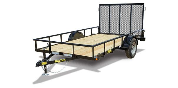 2020 Big Tex Trailers 35ES 77 X 12 Utility Trailer