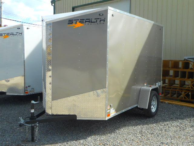 2019 Stealth Trailers Mustang 6 X 10 Single Axle Enclosed Cargo Trailer