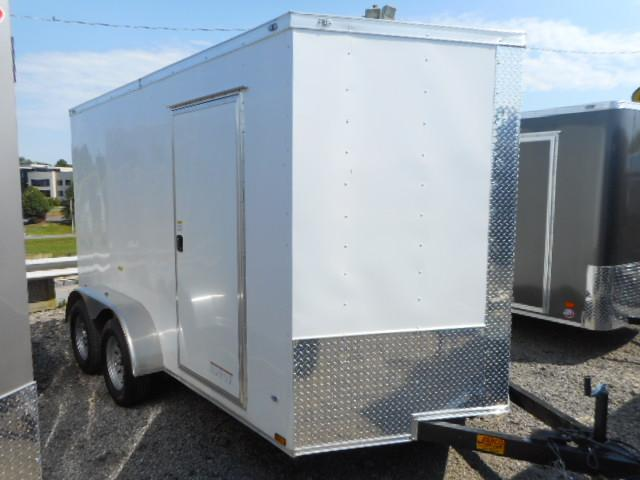 2018 Precision 7x12 Tandem Axle Enclosed Cargo Trailer