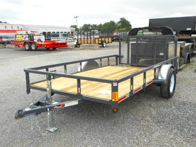 2018 Heartland 6-1/2x12 Single Axle with Dovetail Utility Trailer