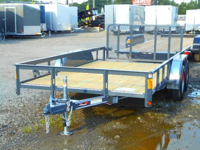 2018 Heartland 7x14 Tandem Axle with Dovetail Utility Trailer