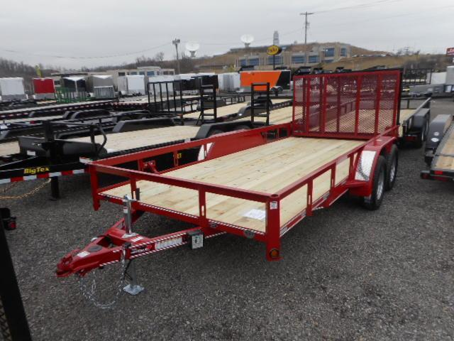 2018 Heartland Heavy Duty Utility Trailer 7x16 Tandem Axle