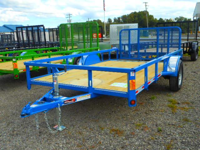 2018 Heartland 6-1/2x12 Single Axle Utility Trailer with Dovetail