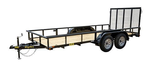 2020 Big Tex Trailers 60ES 6-1/2 X 16 Utility Trailer