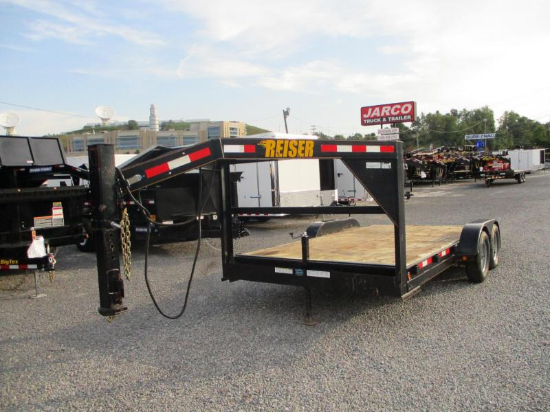 2017 Reiser Trailers Gooseneck 7 X 16 Car / Racing Trailer