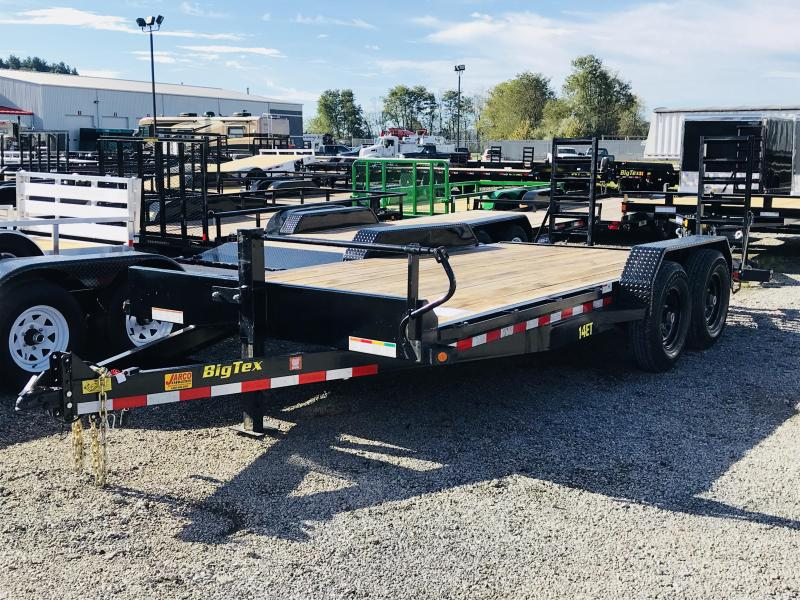 Pre-Owned 2019 Big Tex Trailers 14ET 82'' X 18 Equipment Trailer
