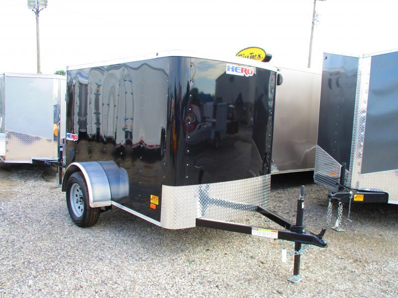 2020 Bravo Trailers Hero 5 X 8 Enclosed Cargo Trailer