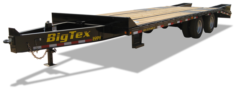 2019 Big Tex Trailers 22PH 102''x20+5 Equipment Trailer