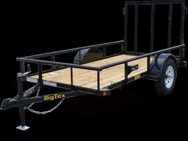 2019 Big Tex Trailers 35SA 6-1/2x12 Single Axle Utility Trailer