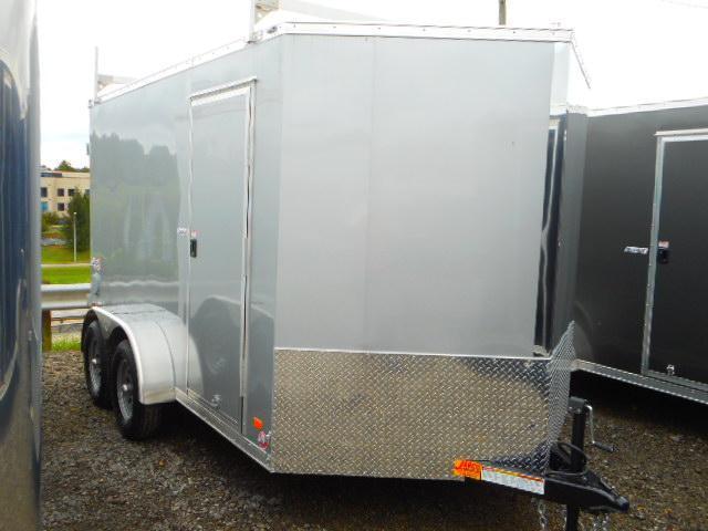 2019 Bravo Trailers Scout 7x12 Tandem Axle Enclosed Cargo Trailer