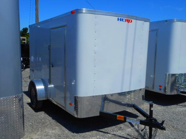 2019 Bravo Trailers Hero 6x10 Single Axle Enclosed Cargo Trailer