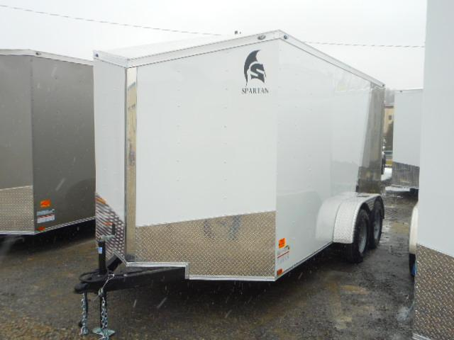 2019 Spartan 7 X 14 Tandem Axle Enclosed Cargo Trailer