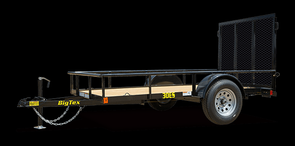 2019 Big Tex Trailers 30ES 5X8 Single Axle Economy Utility Trailer