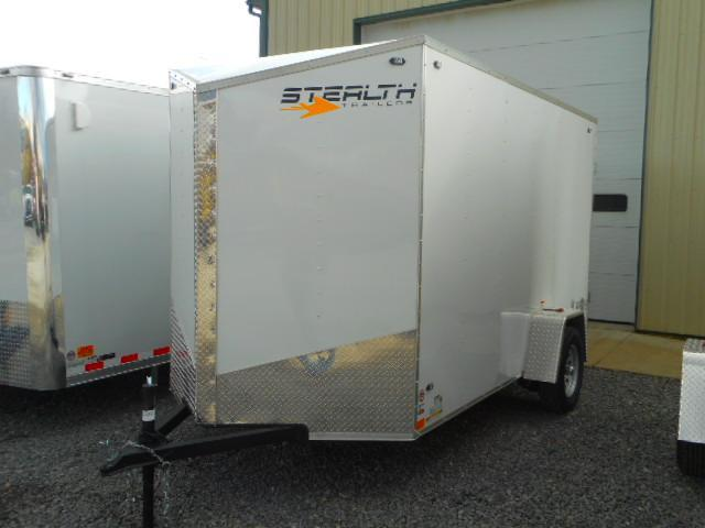 2019 Stealth Trailers Mustang 6 X 12 Single Axle Enclosed Cargo Trailer