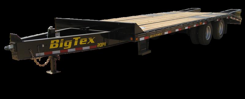 2017 Big Tex Trailers 20 PINTLE HOOK Equipment Trailer