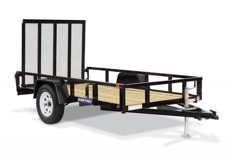 2019 Sure-Trac 6 X 10 Tube Top Utility Trailer