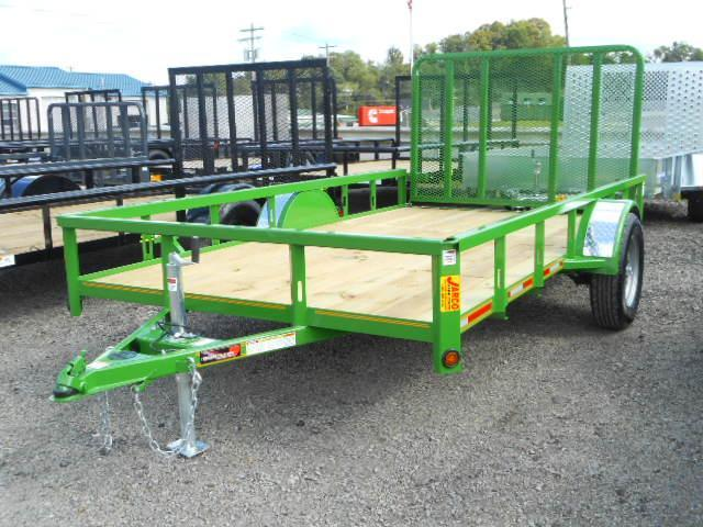 2018 Heartland 6-1/2x12 Single Axle Utility Trailer