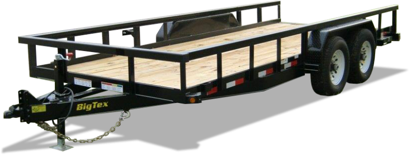 2020 Big Tex Trailers 14PI 7 X 18 Utility Trailer