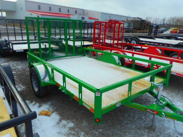 2018 Heartland Single Axle Utility Trailer 6 1/2x10