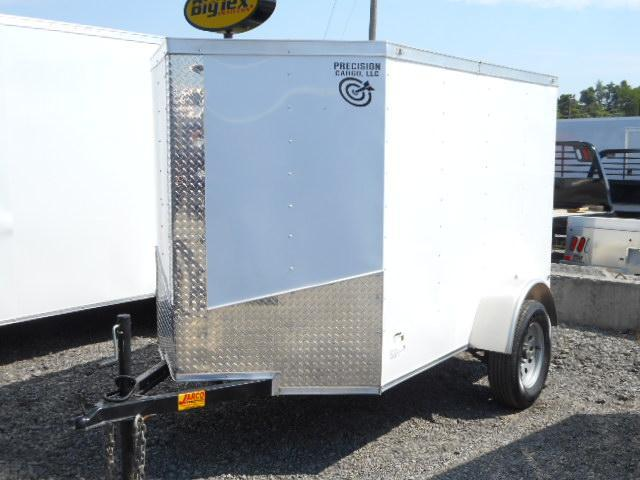 2018 Precision 5x8 Single Axle Enclosed Cargo Trailer