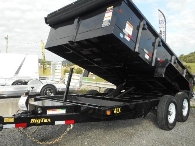 2019 Big Tex Trailers 14LX 83 X 12 Scissor Dump Trailer