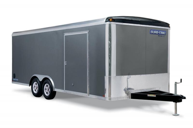 2019 Sure-Trac 8.5 x 24 10K Pro Round Top Car Hauler Car / Racing Trailer