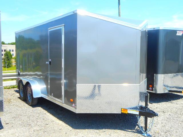 2019 Bravo Trailers Scout 7x16 Tandem Axle 7k Enclosed Cargo Trailer