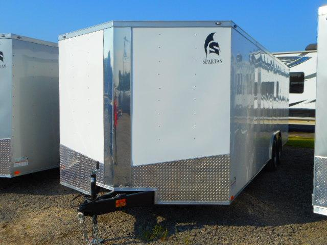 2019 Spartan 8.5x24 Tandem Axle Enclosed Cargo Trailer