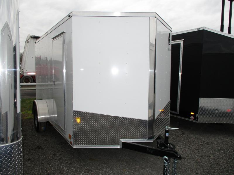 2019 Spartan 7 X 12 Enclosed Cargo Trailer