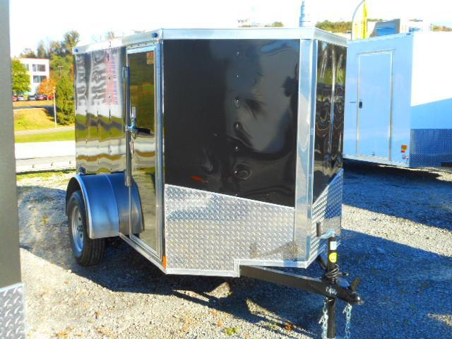 2019 Spartan 5 X 8 Single Axle Enclosed Cargo Trailer