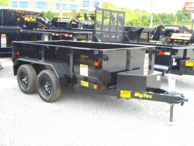 2019 Big Tex Trailers 70SR 5 X 10 Tandem Axle Dump Trailer