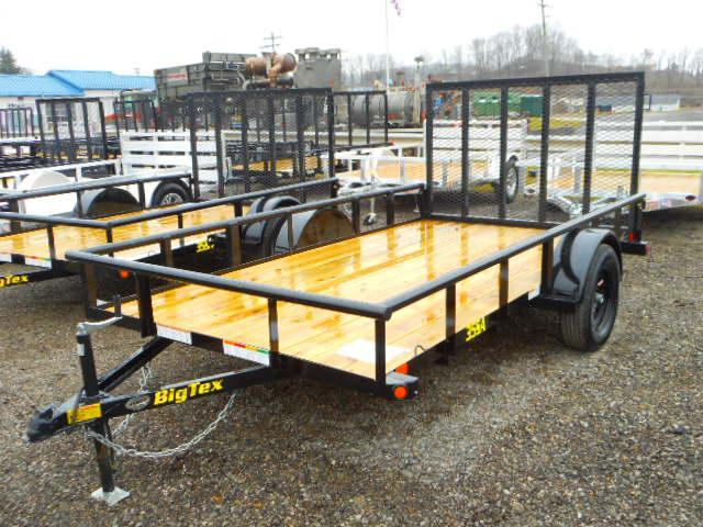 2019 Big Tex Trailers 35SA 6-1/2 X 12 Utility Trailer