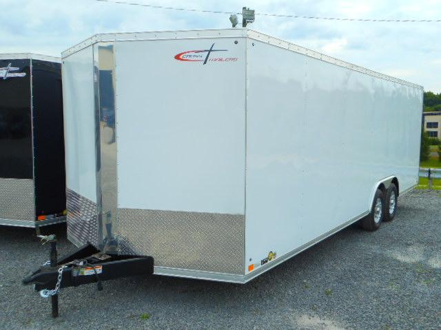 2019 Cross Trailers 8.5 x 24 TA Enclosed Cargo Trailer with 5200# Torsion Axles