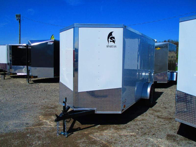 2019 Spartan 6 X 12 Enclosed Cargo Trailer