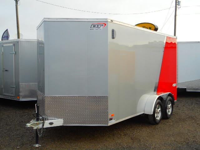 2018 Bravo Trailers 7x14 Aluminum Enclosed Cargo Trailer