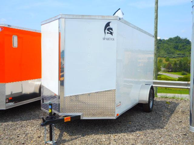 2019 Spartan 6x12 Single Axle Enclosed Cargo Trailer