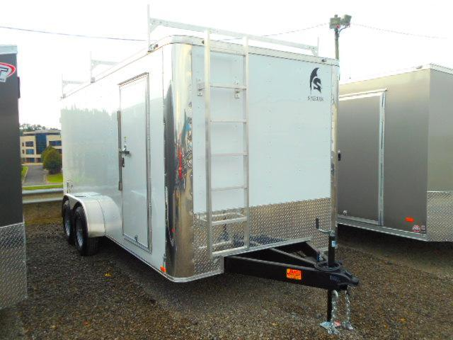 2019 Spartan 7x16 Tandem Axle 10k Enclosed Cargo Trailer