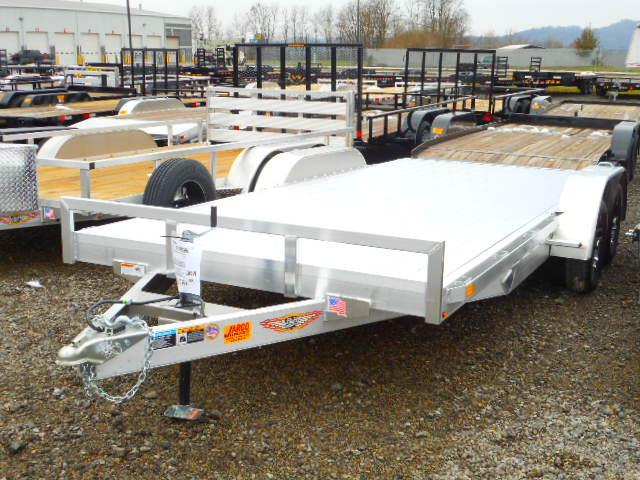 2019 H and H Trailer 82 X 16 + 2 Aluminum Car / Racing Trailer