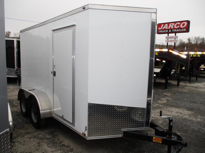2019 Spartan 6 X 12 Tandem Axle Enclosed Cargo Trailer