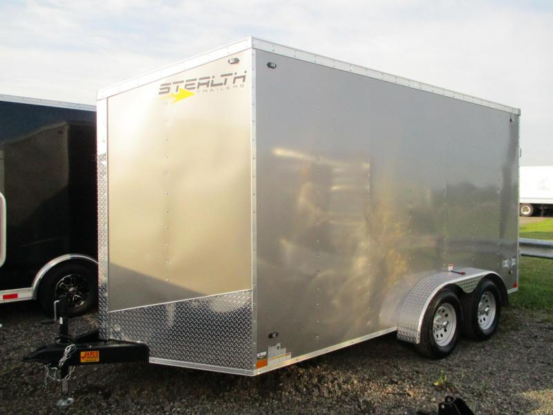 2020 Stealth Trailers Mustang 7 X 14 Enclosed Cargo Trailer