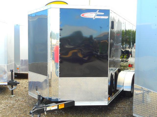 2019 Cross Trailers Alpha Series 7 x 14 TA Enclosed Cargo Trailer