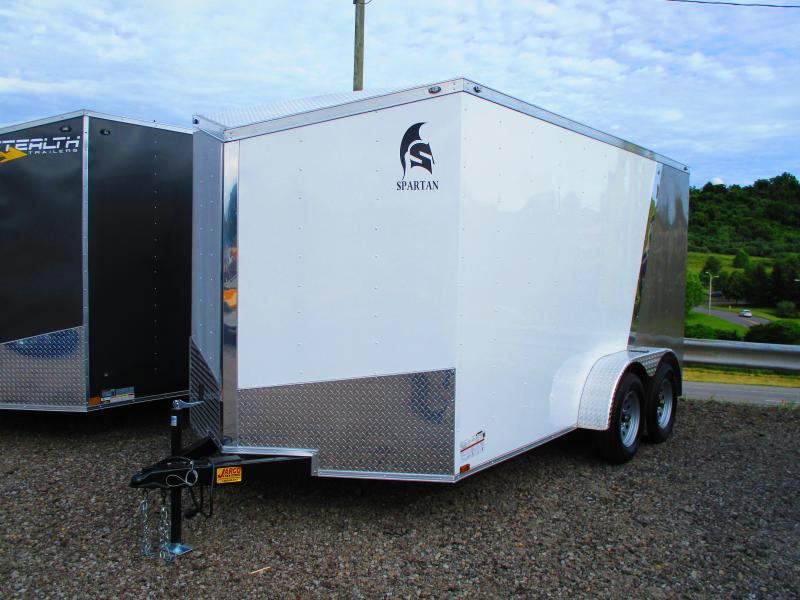 2019 Spartan 7 X 14 Enclosed Cargo Trailer