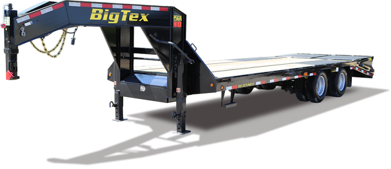 2019 Big Tex Trailers 25GN 102''x30 Equipment Trailer