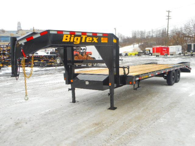 2019 Big Tex Trailers 14GN 102'' X 25+5 Equipment Trailer