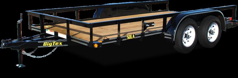 2019 Big Tex Trailers 50LA 77''x16 Tandem Axle Utility Trailer