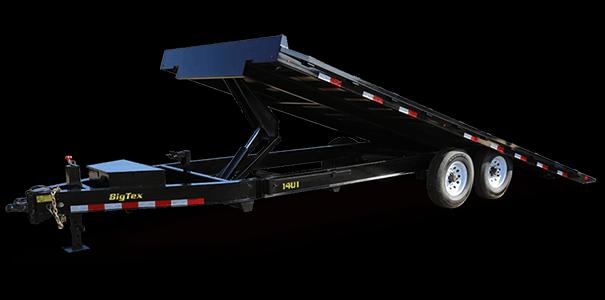 2019 Big Tex Trailers 14OT 102x24 Power Tilt 14k Equipment Trailer