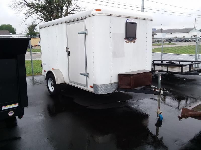 2007 Pace American 6'x10' Enclosed White